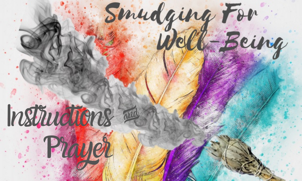 Smudge Kit Spiritual Energy Cleansing 10 Piece Complete Starter Gift Set