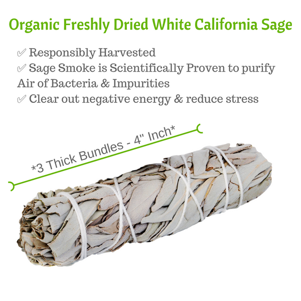 White Sage Chakra Kit: Premium Spiritual Gift Set, Smudge Kit, Worldly Finds, Worldly Finds