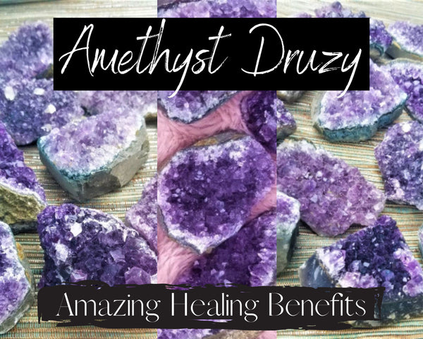 Amethyst Crystal Cluster - 3 Sizes, Vibrant Healing Amethyst Cluster, Amethyst Geode Rock,Amethyst Stone Decor,Amethyst Quartz Clusters