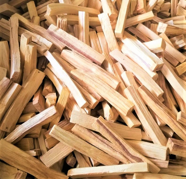 Palo Santo Sticks Holy Wood, AA Grade - Ecuadorian or Peruvian Palo Santos Wood Bulk
