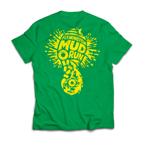 Kids Flemington Mud Run T-Shirts – buy now, collect on the day!