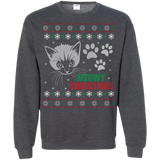 "Cat ""Meowy"" Ugly Christmas Sweater"