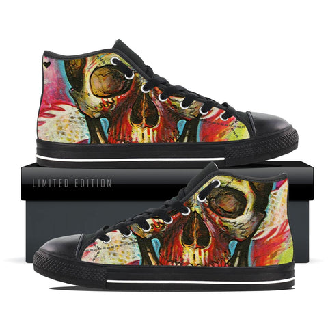 Skulls Of Art - Men's High Tops