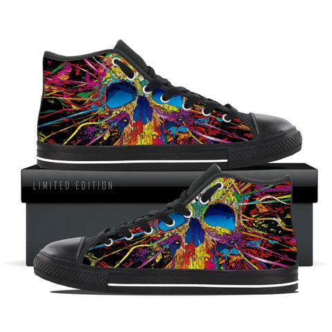 Skull Of Art - Women's High Tops