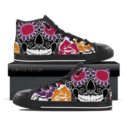 Hypnotized Smile Skull - Women's Shoe Size