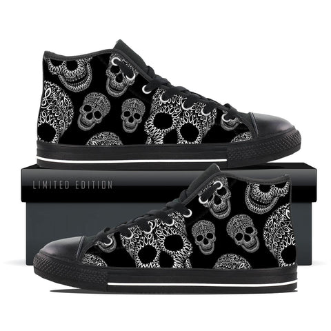 Dark Shade Skull - Women's Shoe Size