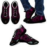 Turquoise & Hot Pink Skull - Women's High Tops