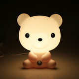 10 Inch Tall Panda, Rabbit, Dog or Bear Cartoon Baby Night Light