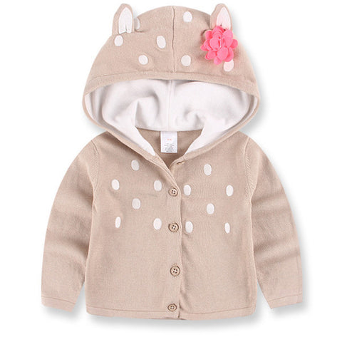 New Fashionable Winter Hooded Sweater For Girls