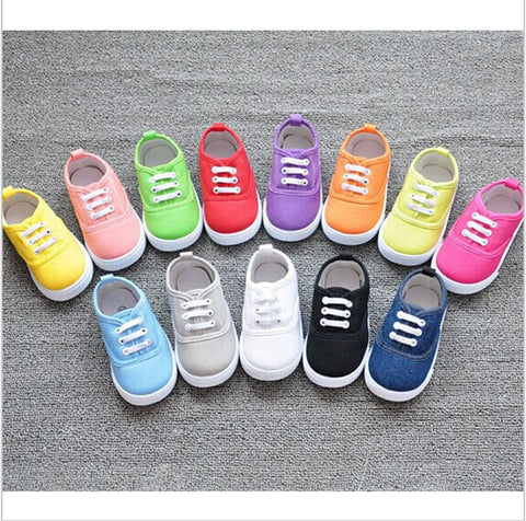 Candy Colored Baby Girl Shoes