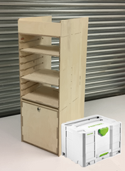 systainer wheel arch unit van racking