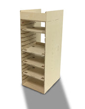 Load image into Gallery viewer, Van racking to suit Festool< sustainers, tanos storage boxes, box racking, unique system manufactured from birch ply.