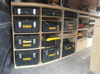 Concept 1500 standard unit suits dewalt, festool, makita,