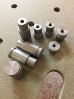 Set of bench dogs to include 4 x 12mm and 4 x 40mm