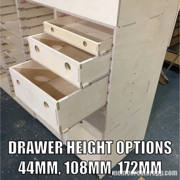 Medium drawer set