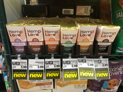 HEMP LOVE® Organic & Vegan Chocolate Bars are now available at RALPH'S Supermarkets.