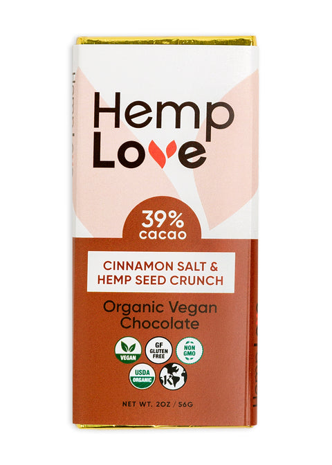 Cinnamon Salt & Hemp Seed Crunch
