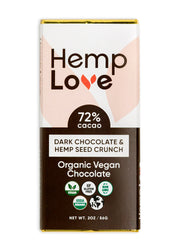 Dark Chocolate & Hemp Seed Crunch