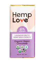 Lavender Salt & Hemp Seed Crunch