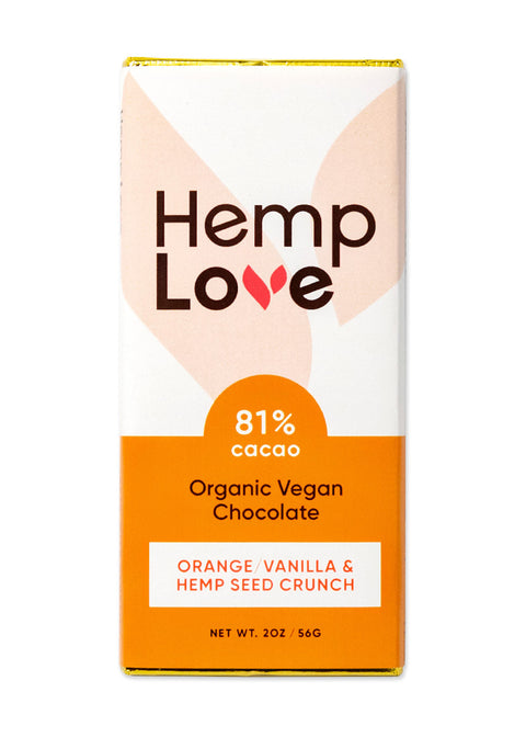 Orange / Vanilla & Hemp Seed Crunch