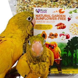 Why Natural Garden Blend for Conure Birds?