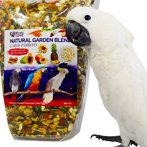 Why Natural Garden Blend for Large Birds?