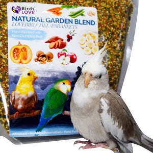 Why Natural Garden Blend for Small Birds?