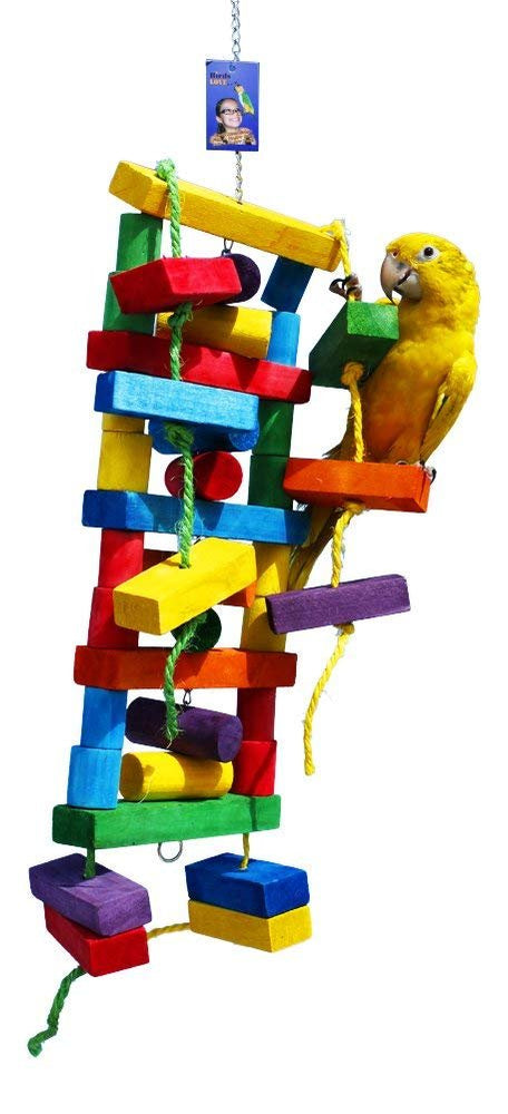 Birds LOVE Five Story Tower of Fun for Medium and Large Size Birds