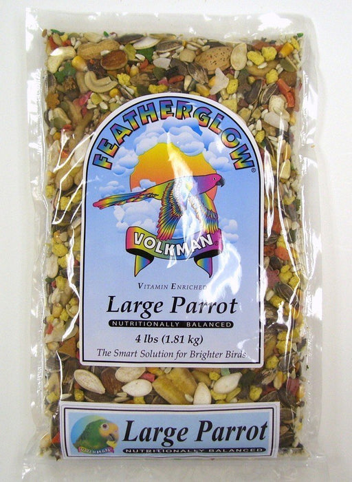 Volkman Seed Featherglow Large Parrot - 4lb