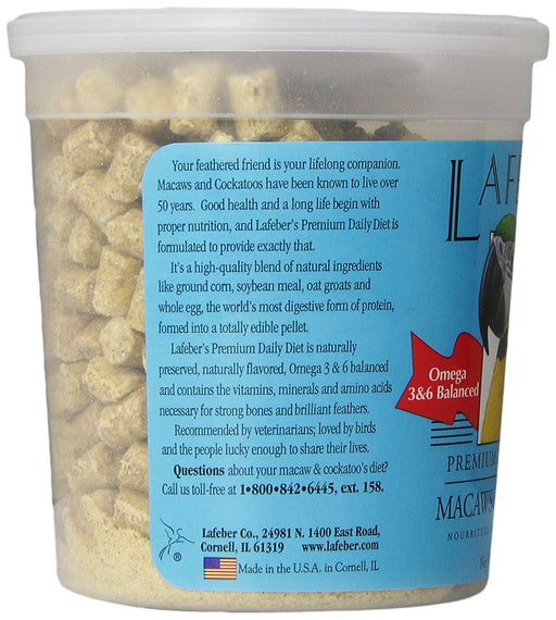 Macaw and Cockatoo Pellets