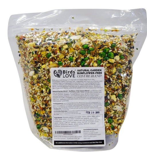 Birds LOVE Natural Garden Blend Bird Food - 2lb