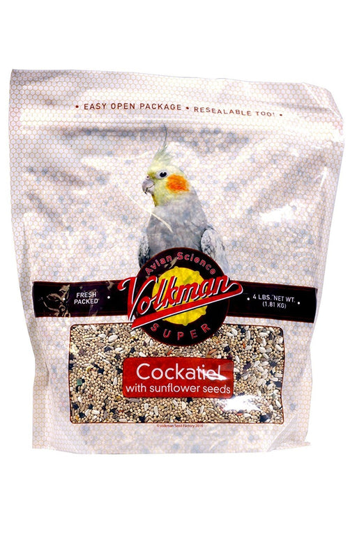 Volkman Seed Avian Science Super Cockatiel With Sunflower - 4lb