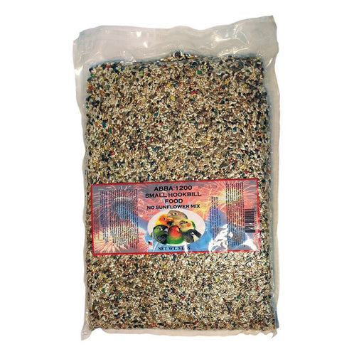 ABBA 1200 Bird Foods Small Hookbill No Sunflower Mix 5lbs