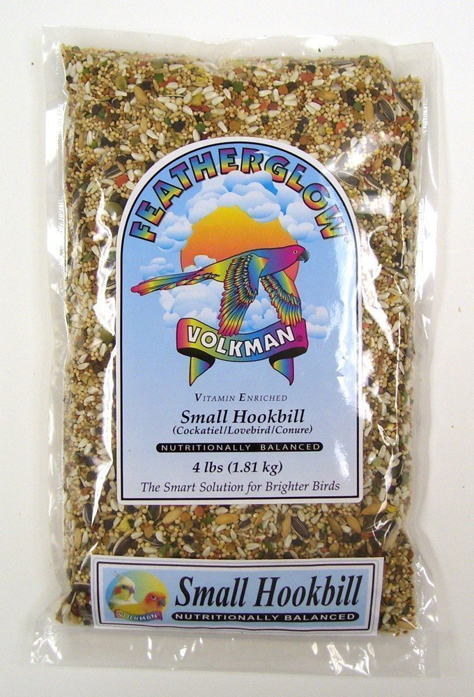 Volkman Seed Featherglow Small Hookbill - 4lb