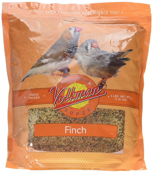 Volkman Avian Science Super Finch - Healthy and Nutritious Birds Food 4 lb