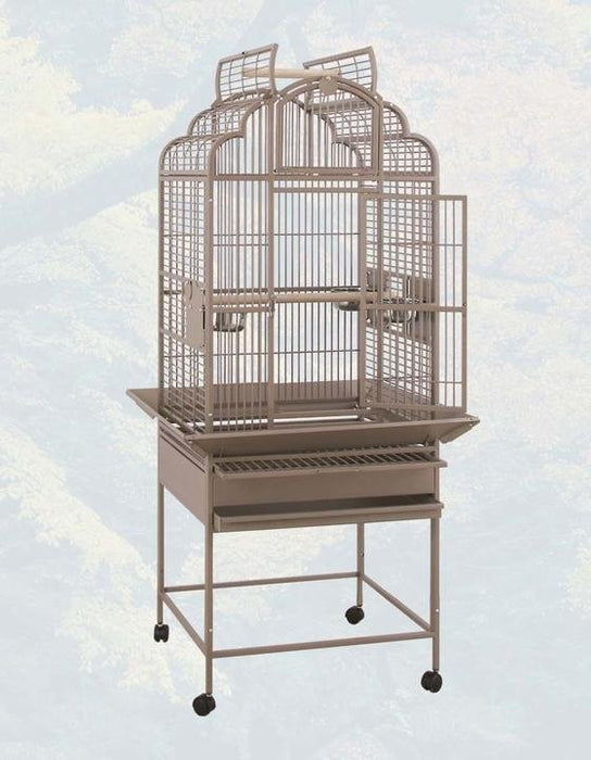 HQ 24x22 Victorian Top Bird Cage - Black