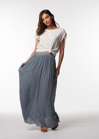 MARLEE WOVEN SKIRT - People's Project LA