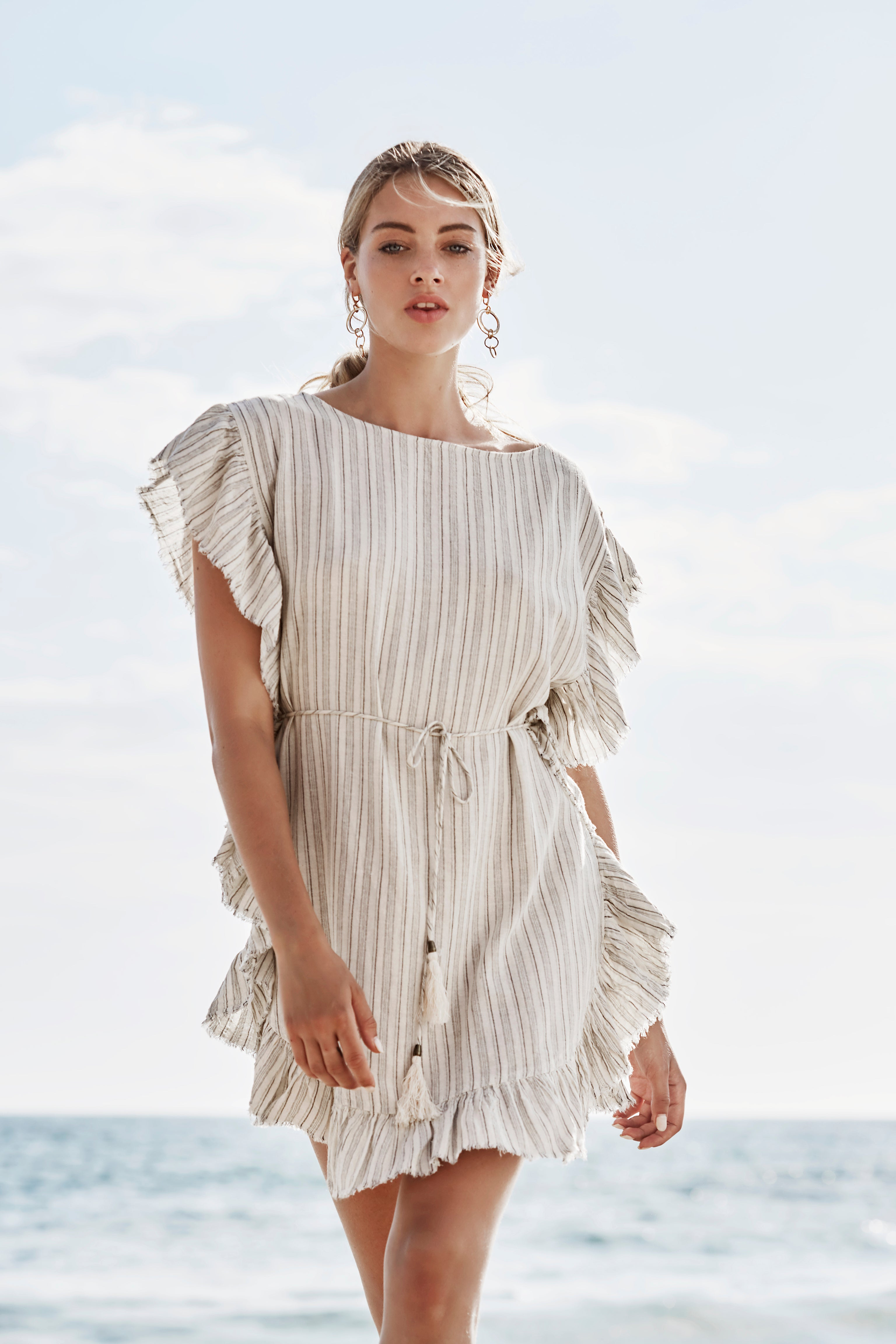 WISHFUL WOVEN DRESS