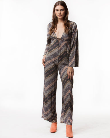 MILES WOVEN JUMPSUIT - People's Project LA