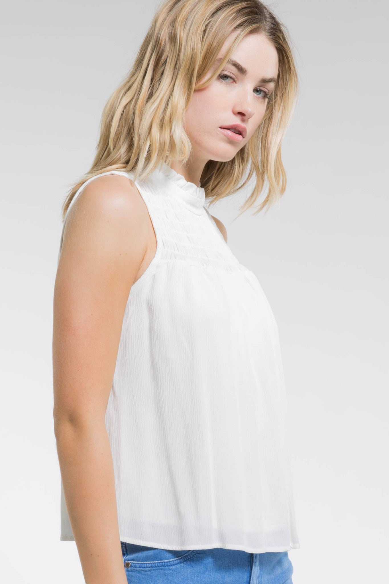 MARIE SLEEVELESS TOP