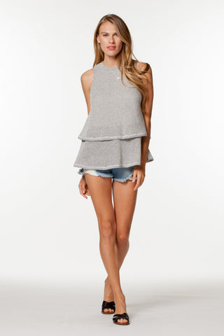 CORVETTE SLEEVELESS TOP