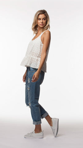CALIX WOVEN TOP - People's Project LA