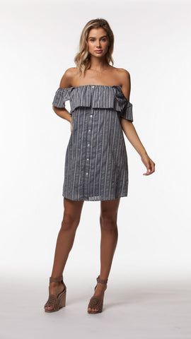 COOPER WOVEN DRESS - People's Project LA