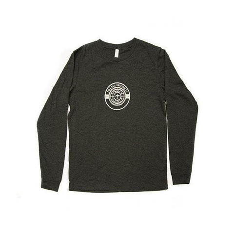 L/S World Tee - Charcoal