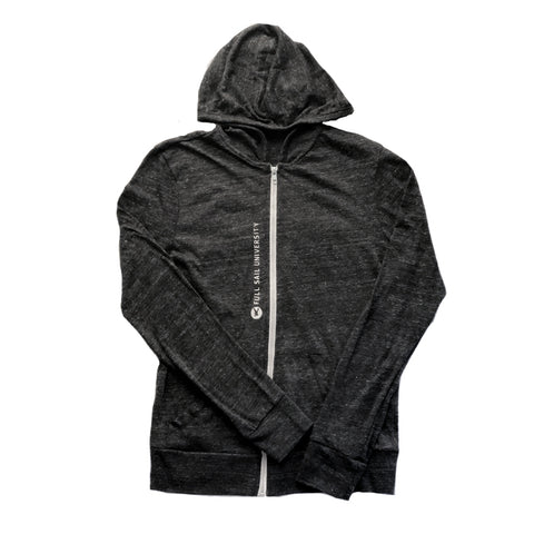 Eco Jersey Lightweight Hoodie – Charcoal