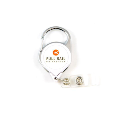 Retractable Lanyard - White