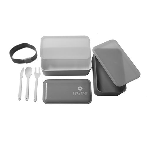 Bento Lunch Box - Gray