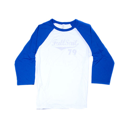 Jersey Tee - Royal Blue + White