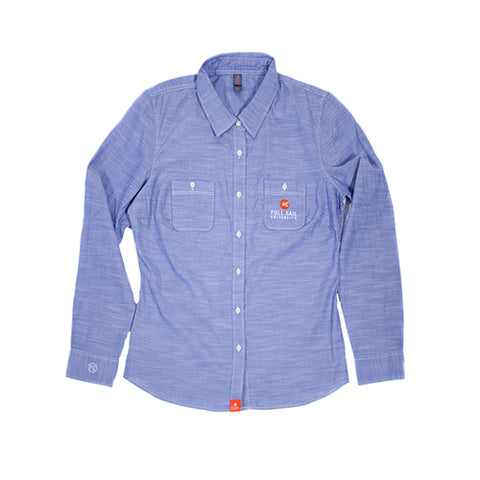 Women's Workshirt - Blue