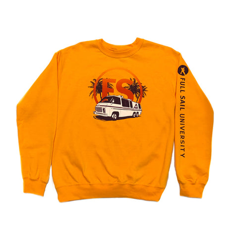 Dream Machine Crewneck - Gold